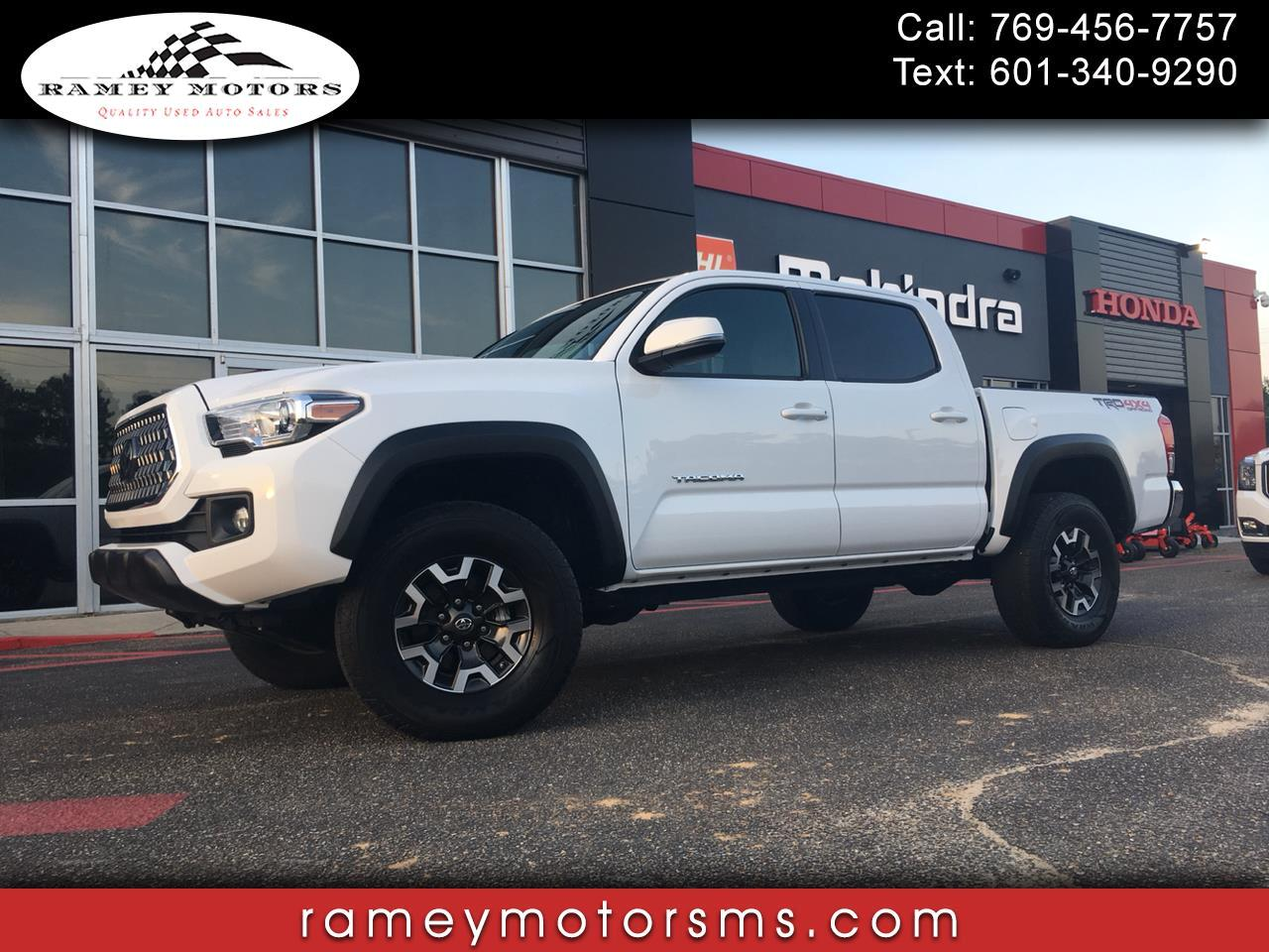 2018 Toyota Tacoma 4WD CREWCAB TRD OFFROAD