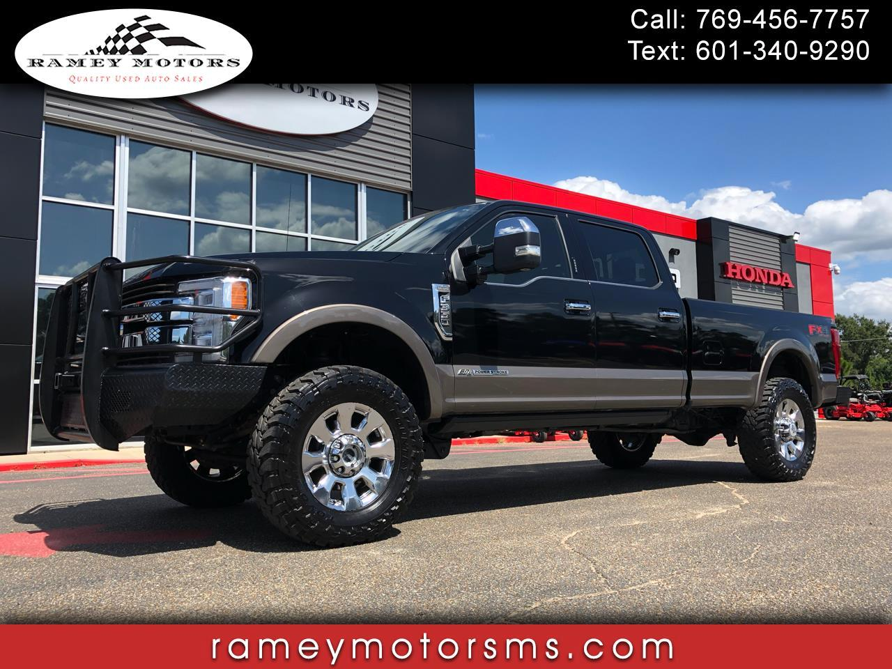 2018 Ford F350 4WD CREWCAB KING RANCH CUSTOM LEVELED