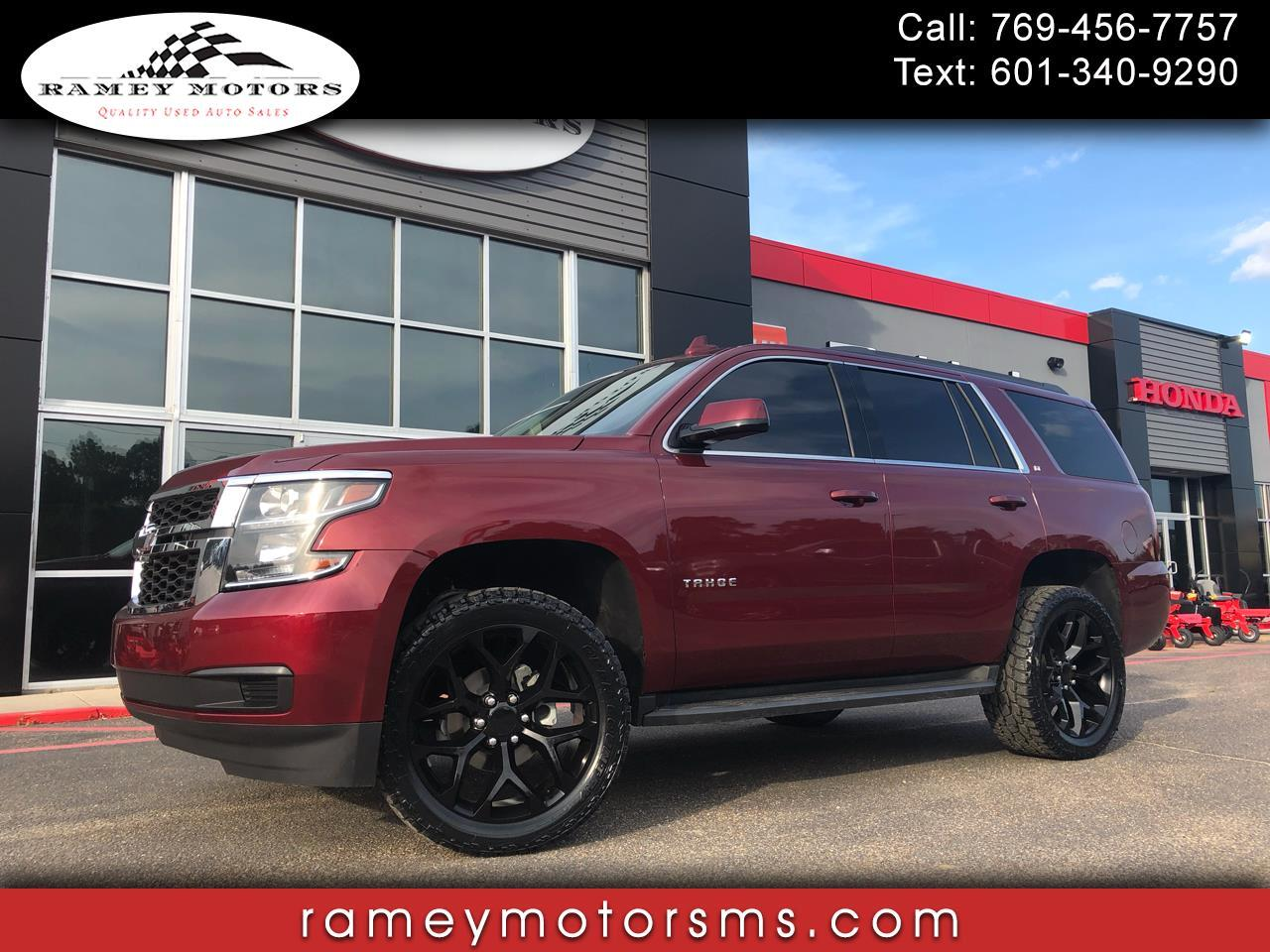 2017 Chevrolet Tahoe LT w/2LT CUSTOM LEVELED