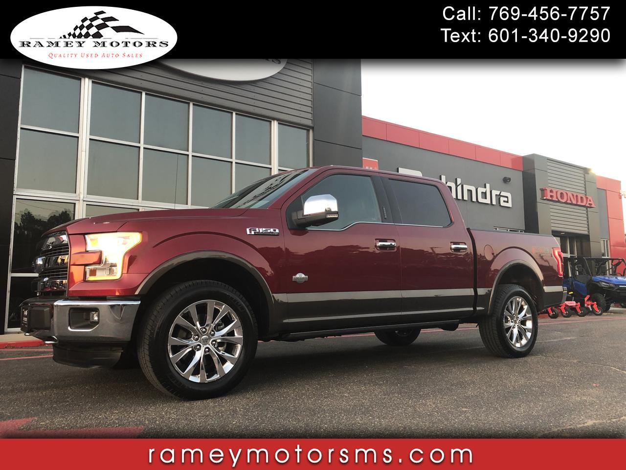 2015 Ford F-150 4WD CREWCAB KING RANCH