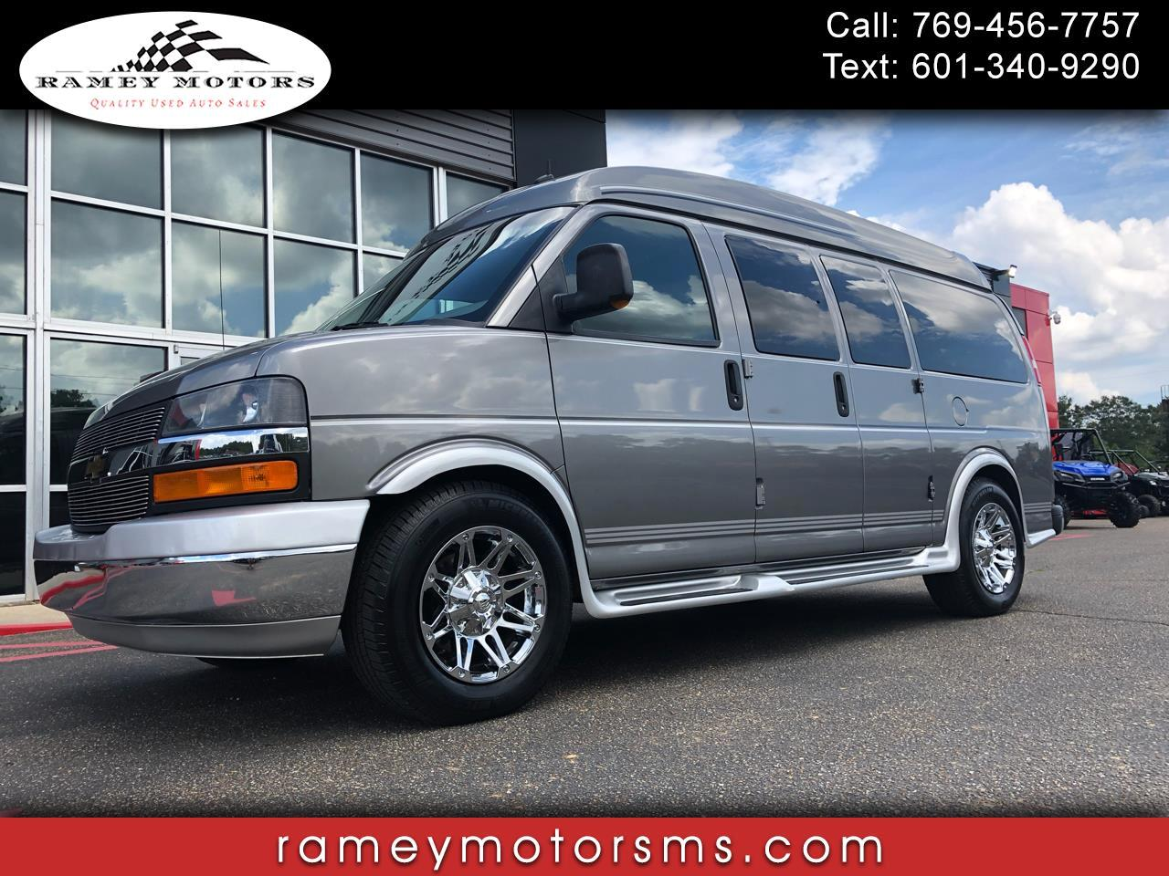 2011 Chevrolet Express HANDICAP VAN AMERICAN LUXURY COACH EDITION