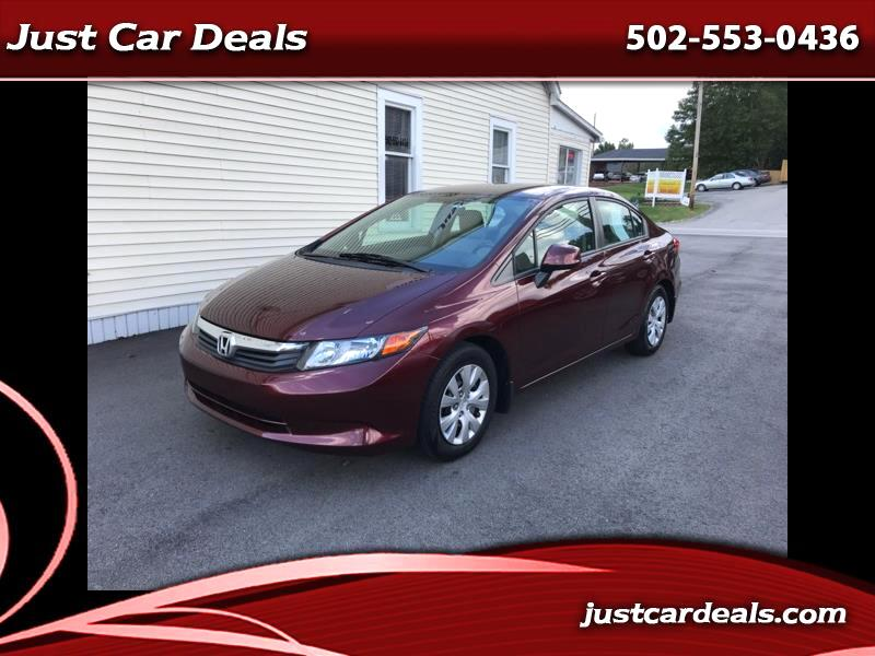 2012 Honda Civic LX Sedan AT