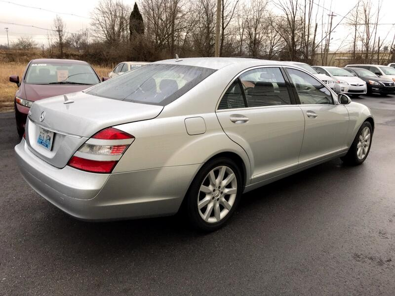 2007 Mercedes-Benz S-Class S 550 Sedan