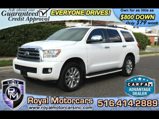 2012 Toyota Sequoia Limited 4WD FFV