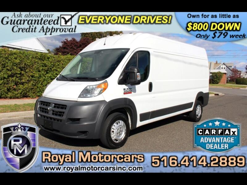 2015 RAM Promaster 3500 High Roof Tradesman 159-in. WB