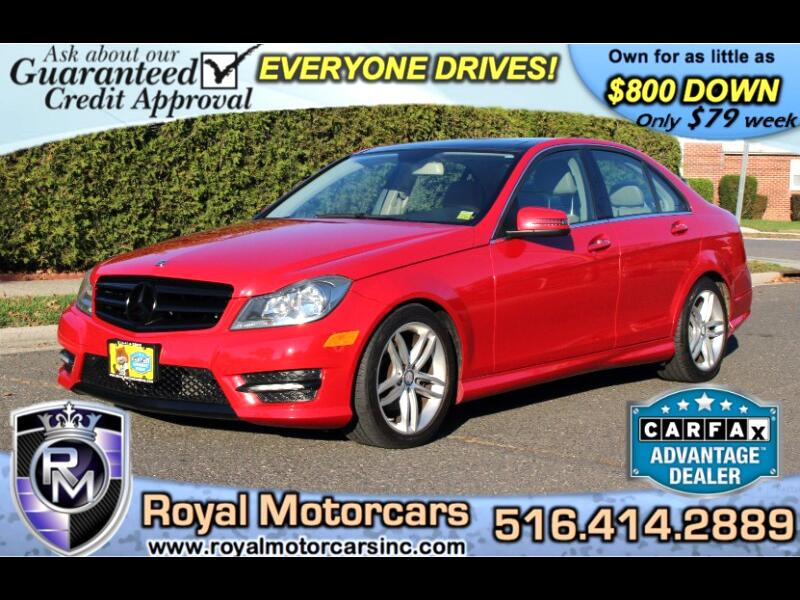 2012 Mercedes-Benz C-Class C300 4MATIC Sport Sedan