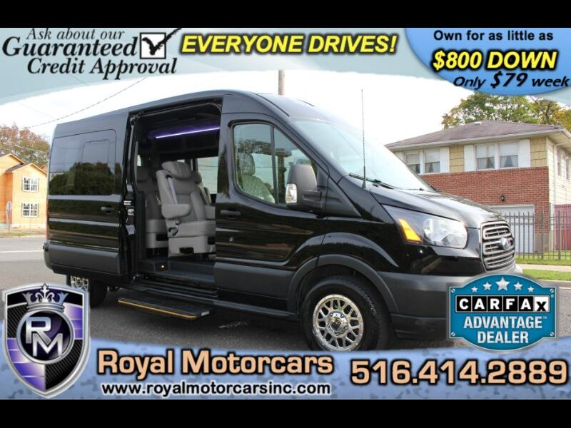 2017 Ford Transit 250 Van Med Roof. custom LUXURY LIMO