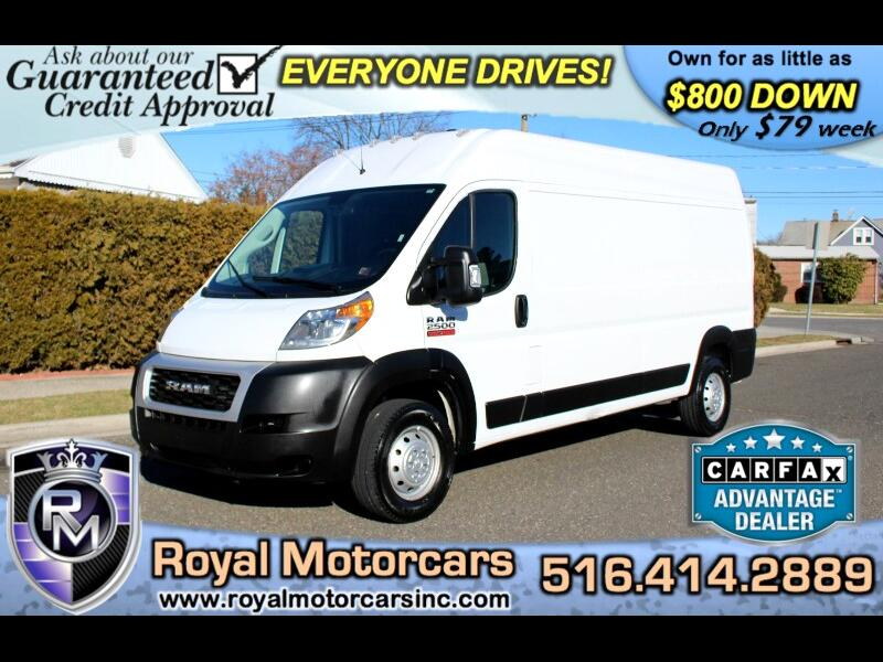 RAM Promaster 2500 High Roof Tradesman 159-in. WB 2019