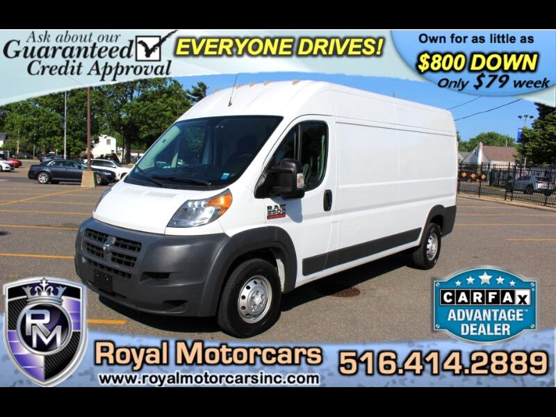 """RAM Promaster 2500 High Roof 159"""" WB 2016"""