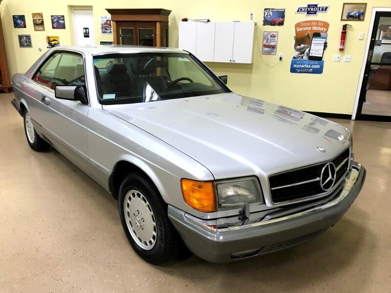 1991 Mercedes-Benz 560 SEC coupe