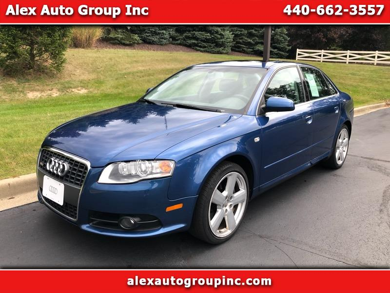 2008 Audi A4 3.2 quattro with Tiptronic