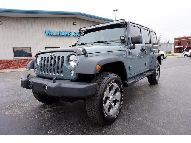 2014 Jeep Wrangler Unlimited Unlimited Sport 4WD