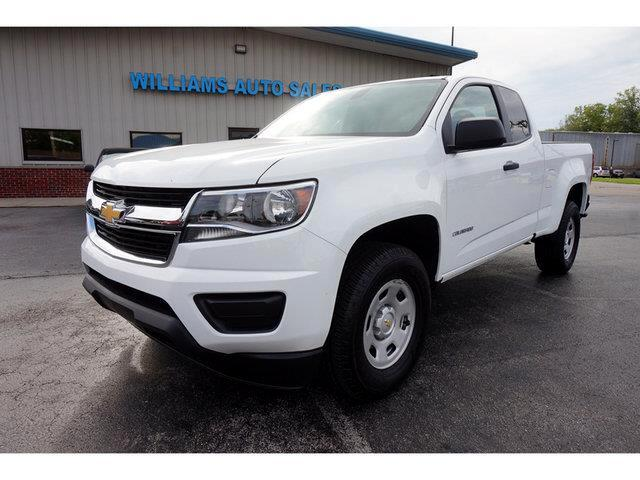 2017 Chevrolet Colorado Work Truck Ext. Cab 2WD