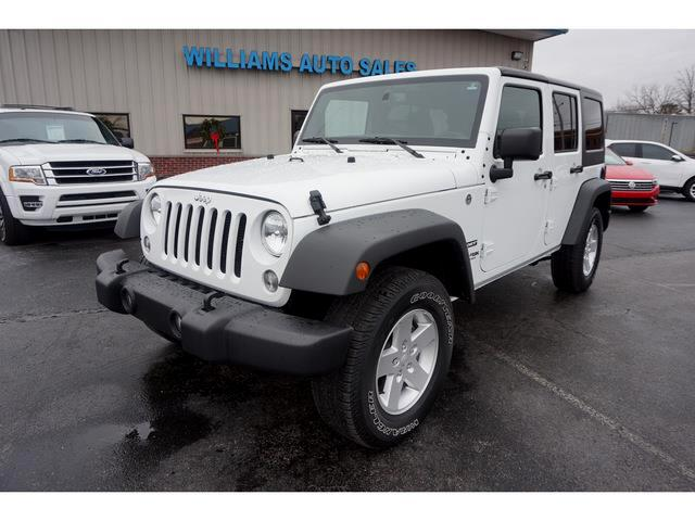 2018 Jeep Wrangler Unlimited Unlimited Sport 4WD