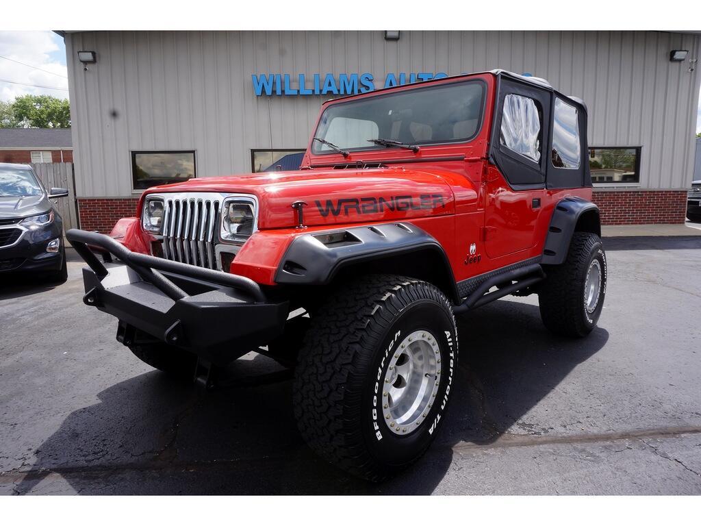 Jeep Wrangler Laredo Hard Top 1990