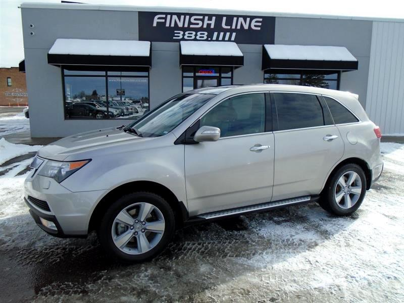 Acura MDX 6-Spd AT w/Advance and Ent. Pkg 2012