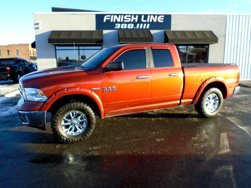 "RAM 1500 Big Horn 4x4 Quad Cab 6'4"" Box 2013"