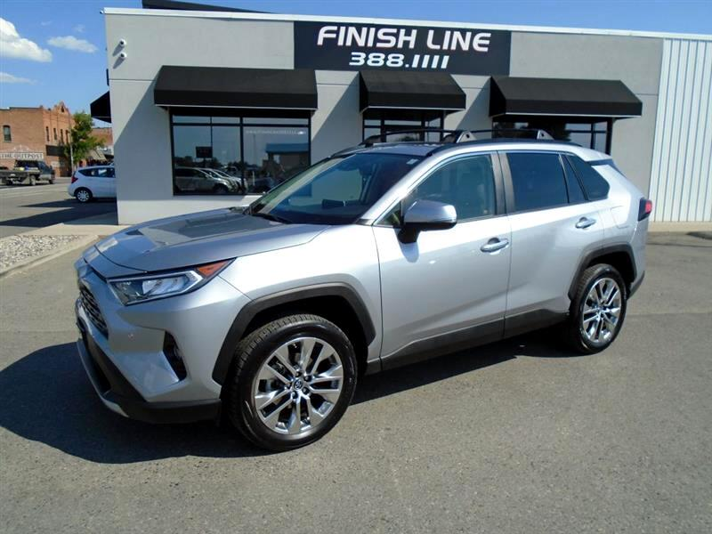 Toyota RAV4 FWD 4dr 4-cyl 4-Spd AT Ltd (Natl) 2019