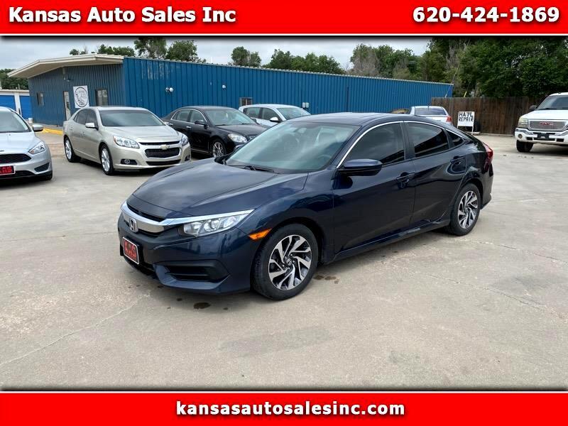 Honda Civic EX Sedan CVT 2018