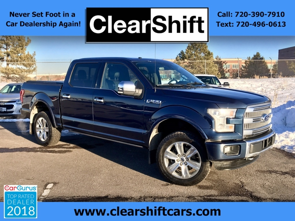 2015 Ford 150 Platinum