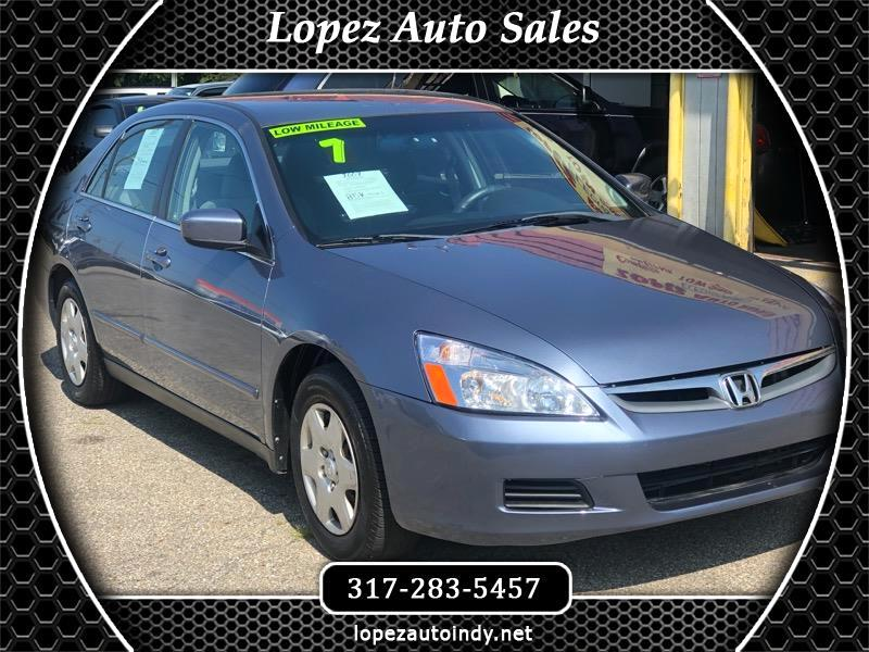 2007 Honda Accord 4dr Sedan LX Auto