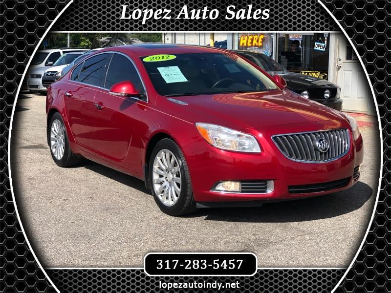 2012 Buick Regal 4dr Sdn Turbo Premium 1