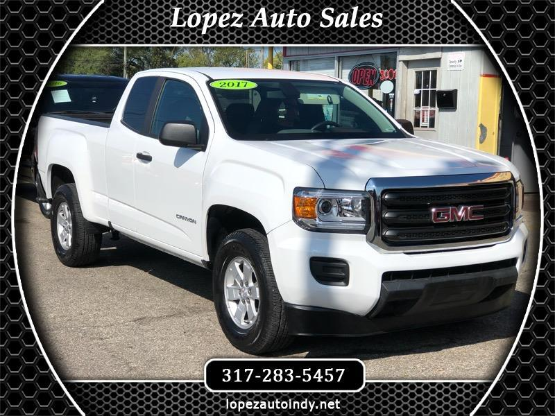 2017 GMC Canyon Work Truck Ext. Cab 2WD