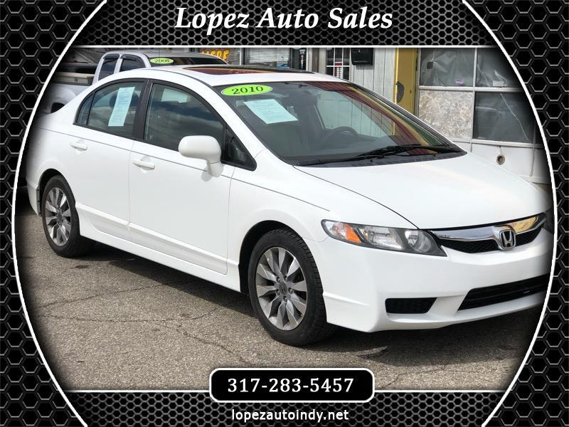 Honda Civic EX Sedan 5-Speed AT 2011