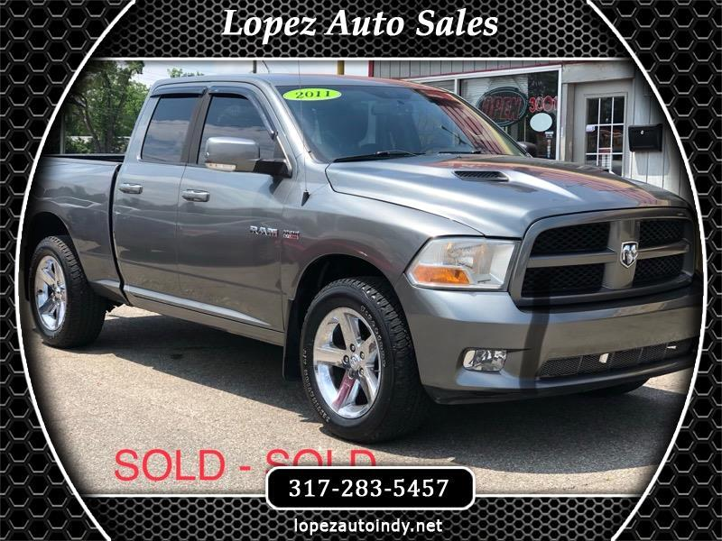 Dodge Ram 1500 SLT Quad Cab Short Bed 4WD 2011