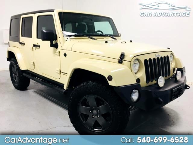 2012 Jeep Wrangler UNLIMITED SAHAR 4WD ** CARFAX CERTIFIED/NEW CONDIT