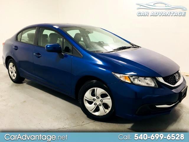 2015 Honda Civic LX SEDAN CVT ** SUPER LOW MILEAGE **