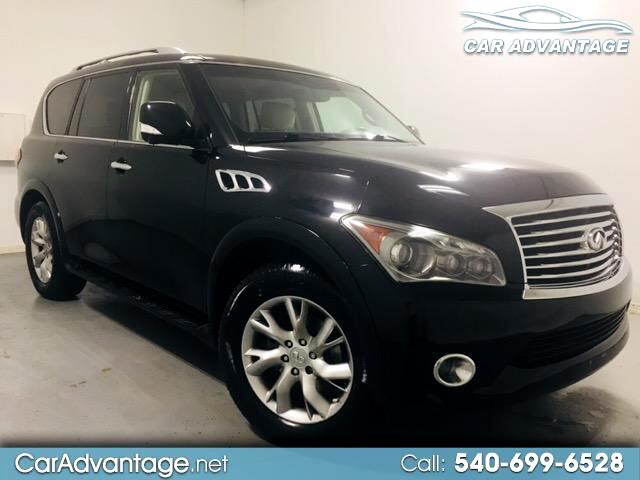2012 Infiniti QX56 4WD **ONE OWNER CARFAX CERTIFIED**