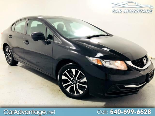 2015 Honda Civic EX SEDAN CVT **LOW MILEAGE/CLEAN HISTORY**