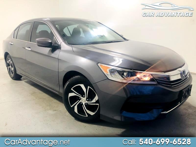 2016 Honda Accord LX SEDAN CVT **SUPER LOW MILEAGE/CLEAN HISTORY**