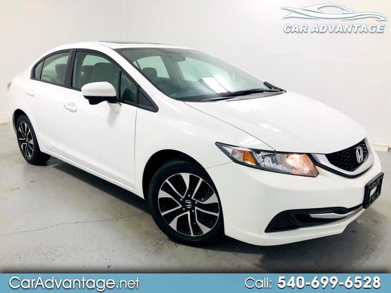 2015 Honda Civic EX SEDAN CVT **CLEAN HISTORY/ONE OWNER**