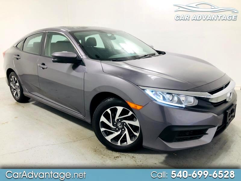 2016 Honda Civic EX SEDAN CVT **CLEAN HISTORY/ONE OWNER**