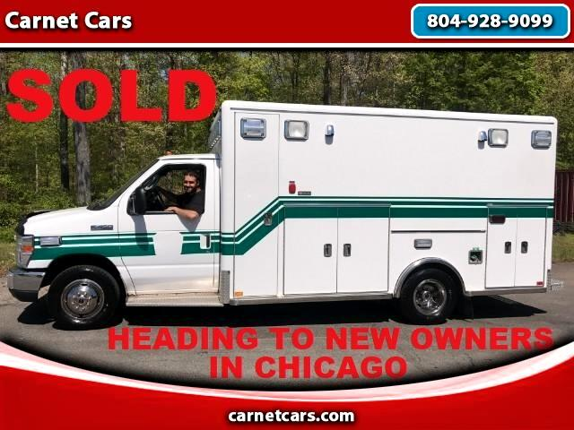2009 Ford Econoline E-450 Horton Type III Ambulance 1 Owner Exc Cond S