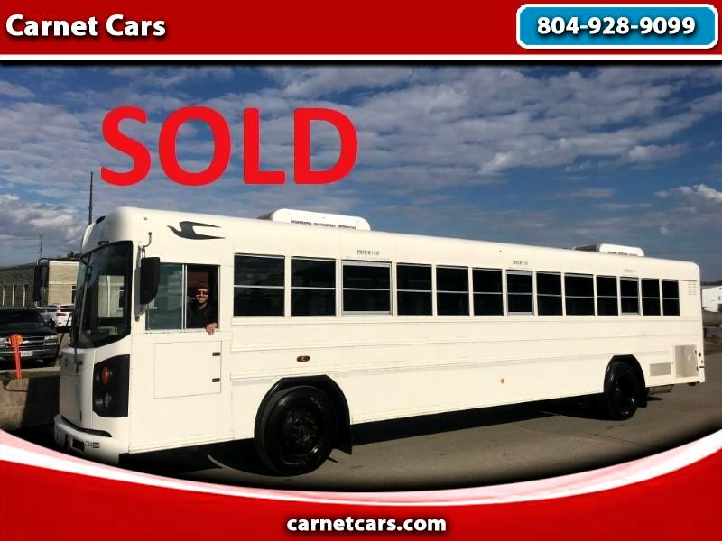 2011 Blue Bird All American/All Canadian 2011 BLUEBIRD 44 PASSENGER BUS 8.3L CUMMINS MOTOR
