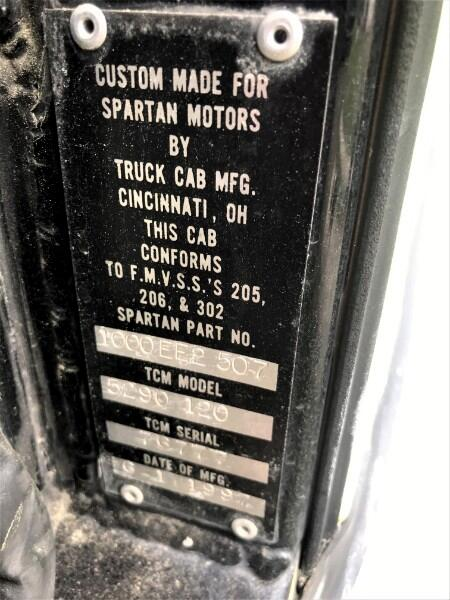 1997 Spartan Gladiator 1997 SPARTAN GLADIATOR FIRE TRUCK