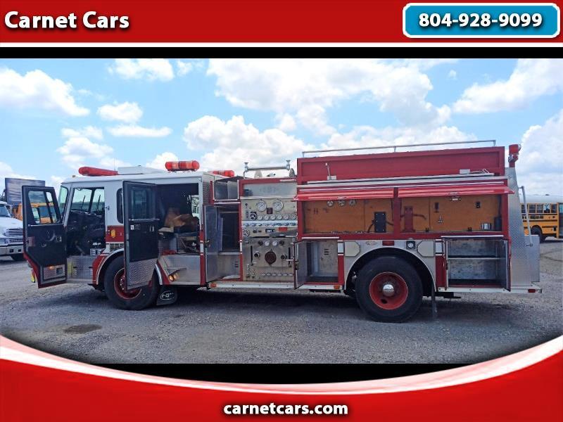 Emergency One Fire Truck  1995