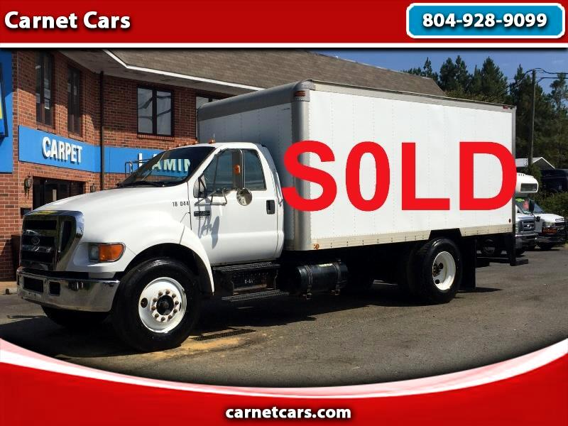 Ford F-750 Regular Cab 2WD DRW 2004