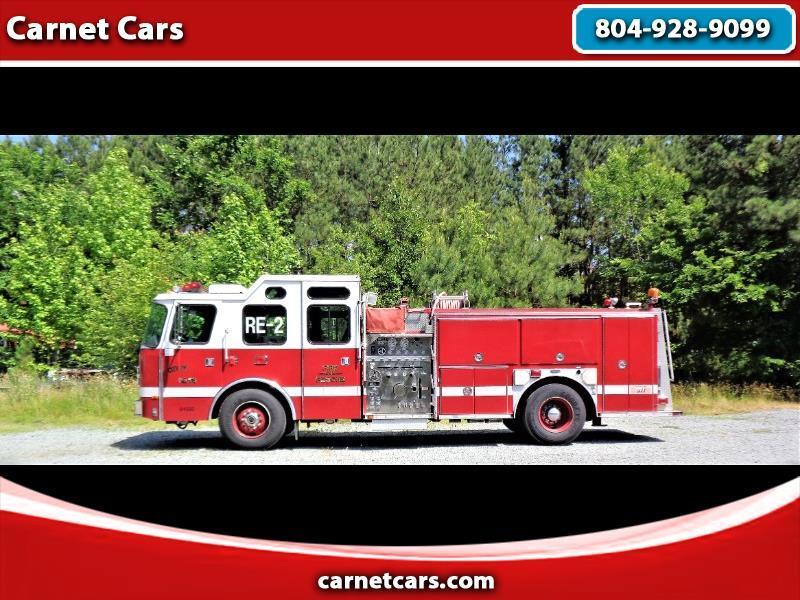 Emergency One Fire Truck  1997