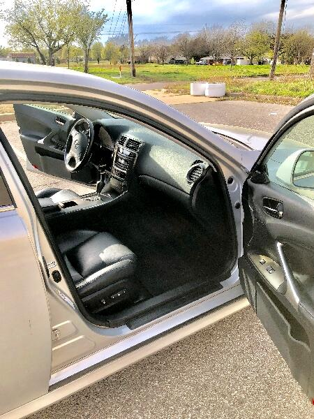 2008 Lexus IS IS 250 6-Speed Manual
