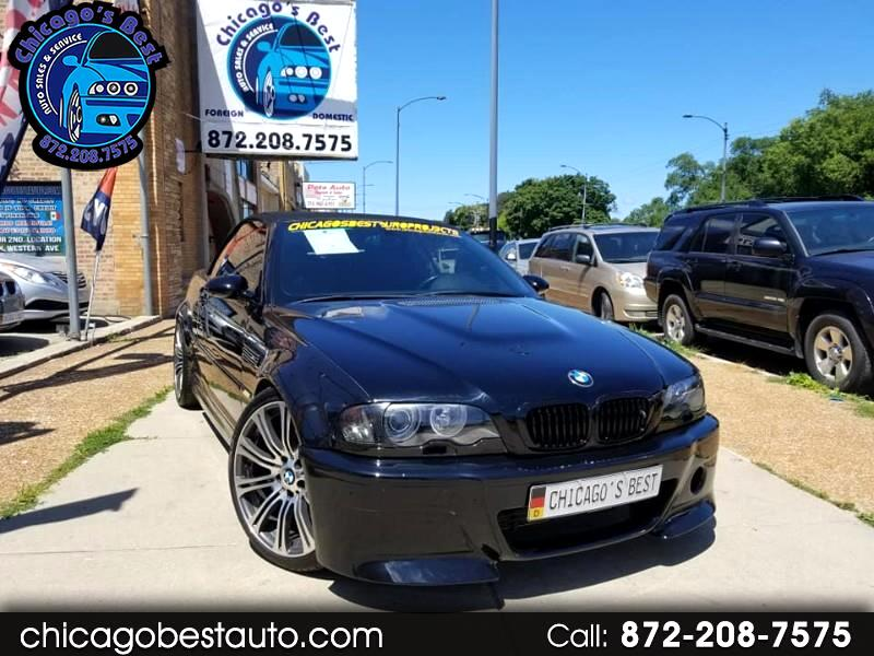 2002 BMW 3 Series 2dr Conv M3