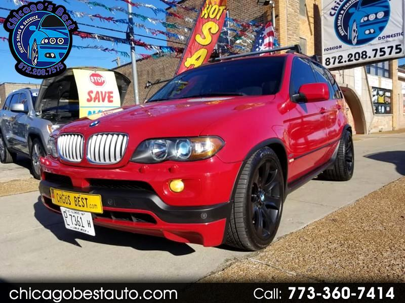 2004 BMW X5 4.8is