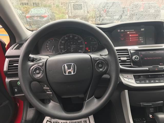 Honda Accord EX Coupe CVT 2014
