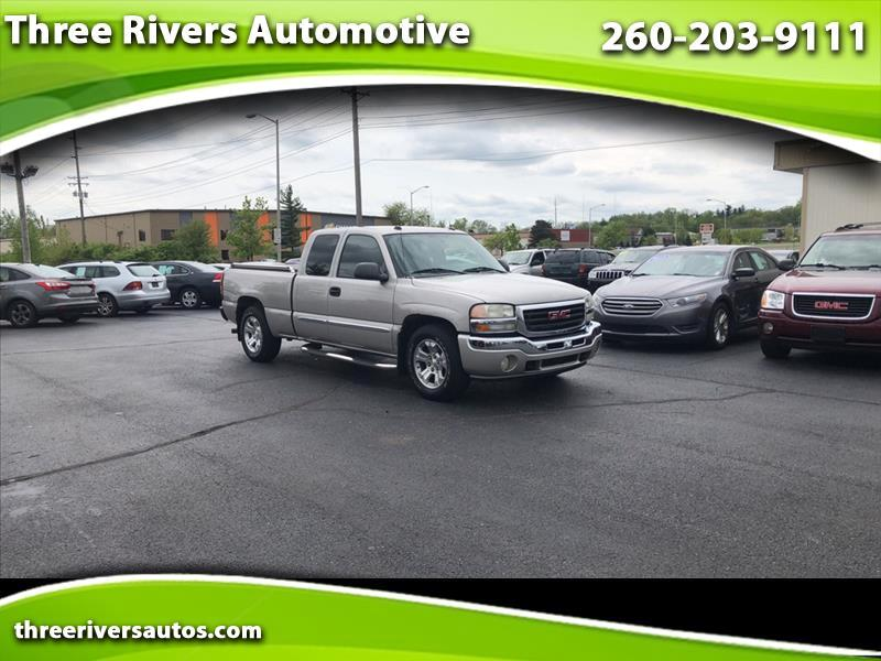2005 GMC Sierra Ext. Cab Long Bed 2WD