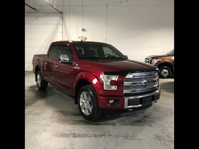 2015 Ford F-150 Platinum Pickup 4D 5 1/2 ft