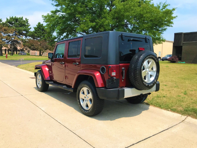 2008 Jeep Wrangler 4WD 4dr Unlimited Sahara
