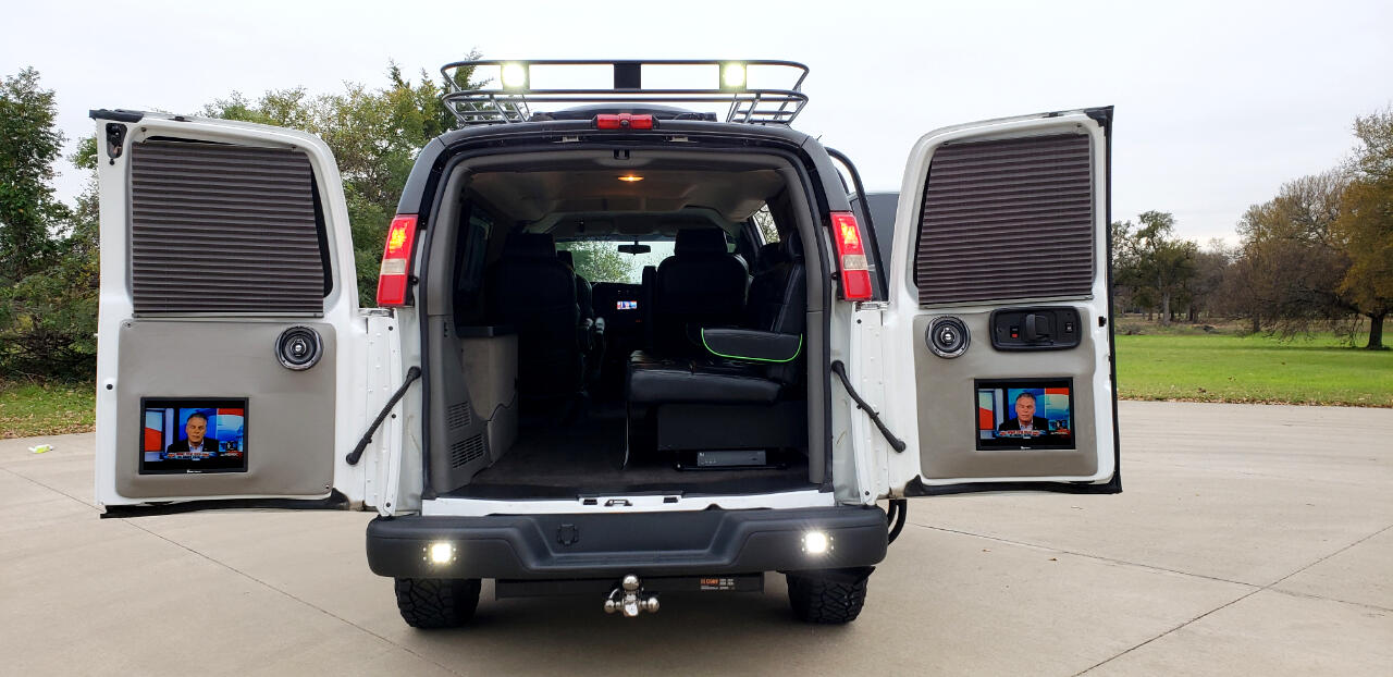 2012 GMC Savana Quigley 4x4 Conversion